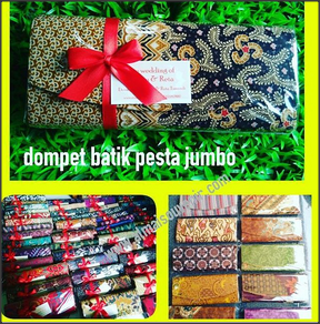 souvenir dompet batik jumbo