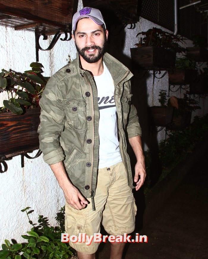 Varun Dhawan, 'It's Entertainment' Movie Special Screening Pics