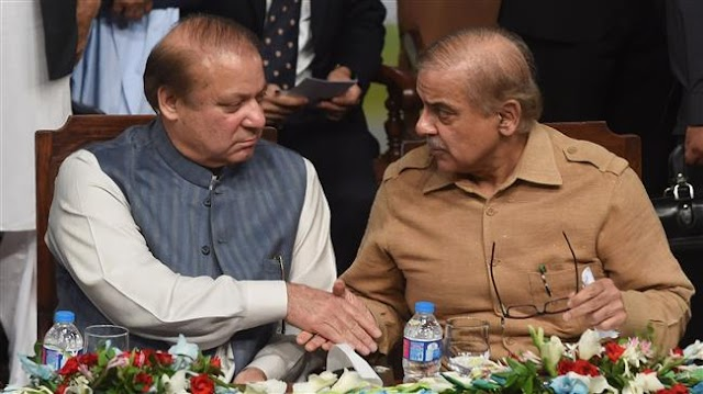 Pakistan's ruling party picks Sharif's brother Shahbaz as president