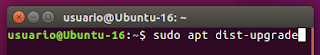 sudo apt dist-upgrade