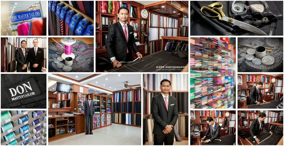 Suits made at Don Master Tailor Koh samui