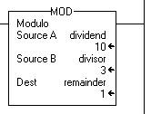 How to program an Allen Bradley PLC: Modulo (MOD)