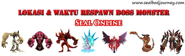 Lokasi dan Map Boss Bale / Monster, Waktu Respawn, Seal Online Blade of Destiny (BoD)