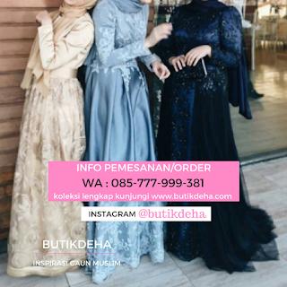 Penjahit online gaun  cantik
