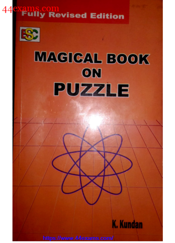 Magical Book on Puzzle By K. Kundan : For Banking Exam PDF Book