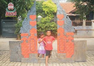 Pembuatan Ornament dan Gapura 3D Motif Bali