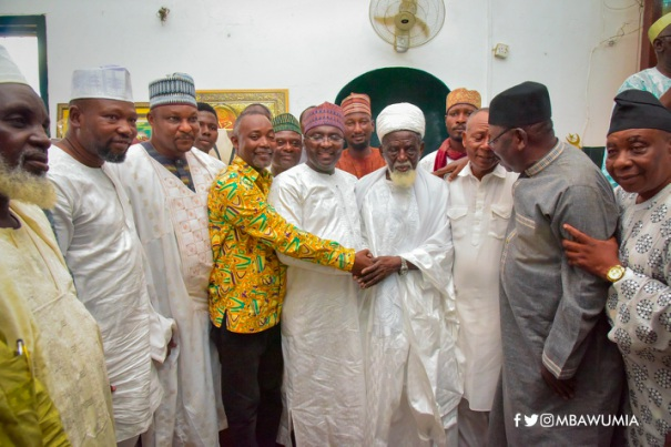 VP Bawumia, Chief Imam Pray For Ghana Ahead Of 62nd  Independence Day Celebration