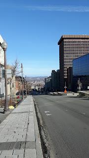 Vieux-Québec, horizon