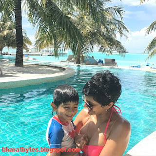 Mandira bedi real life hot bikini photos