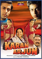 Karan Arjun 1995 Hindi 720p DVDRip Full Movie Download