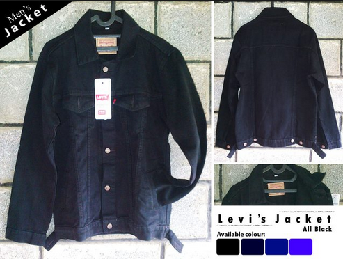 jaket jeans levis