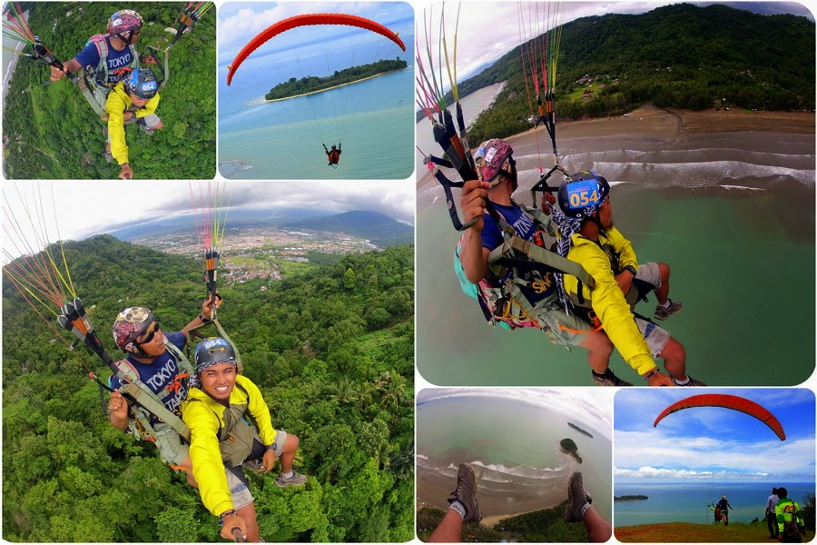 Paralayang Bukit Gado-Gado Padang