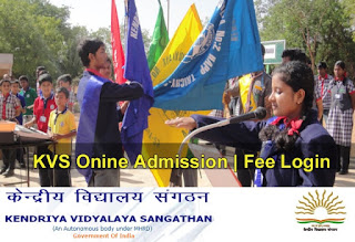 KVS Online Admission, KV Fees, KV Sangathan Login darpan.kvs.gov.in