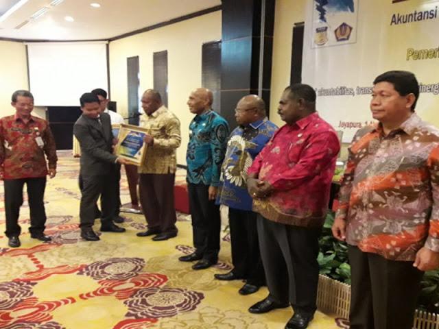 Raih WTP, Pemprov Papua dan 8 Kabupaten Dapat Penghargaan dari Menteri Keuangan