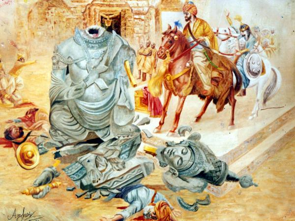 Shocking Facts about Mahmud of Ghazni - Destruction of Hindu Temples