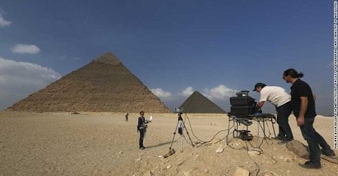 """Piramide u Gizi: Šta to """"termalne anomalije"""" otkrivaju?"""