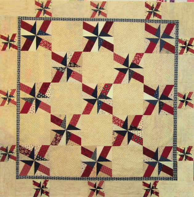 Baby BasiX Boarders - BasiX Template - Patriotic Quilt