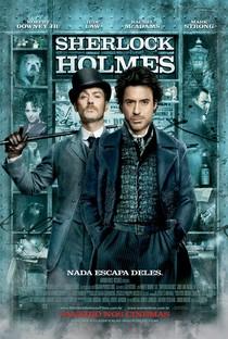Sherlock Holmes com Robert Downey Jr e Jude Law: eu vi