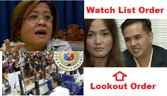 DOJ Ready to Give Lookout Order Against Cedric Lee and Deniece Cornejo
