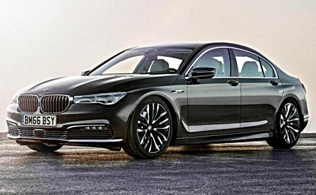 2017 Bmw 5 Series Rendering Features Sporty Design