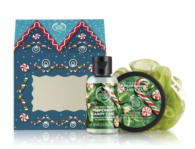 Casita de Delicias Peppermint Candy Cane de The Body Shop