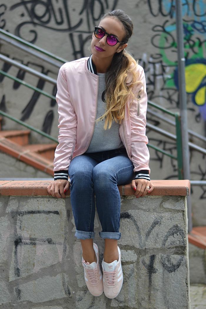 look sportivo rosa