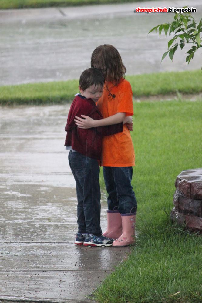 The Romantic in the Rain