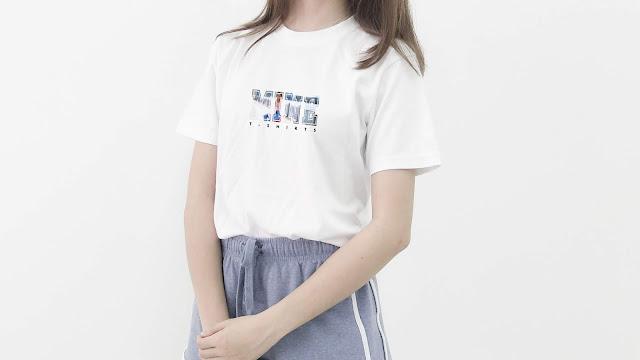 SPT03-P6FC-CTS Memorable Photo & Text T Shirt Design, Custom T Shirt Printing