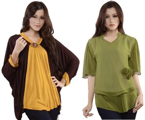 gambar model baju blus wanita