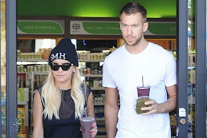Rita Ora and Calvin Harris parted