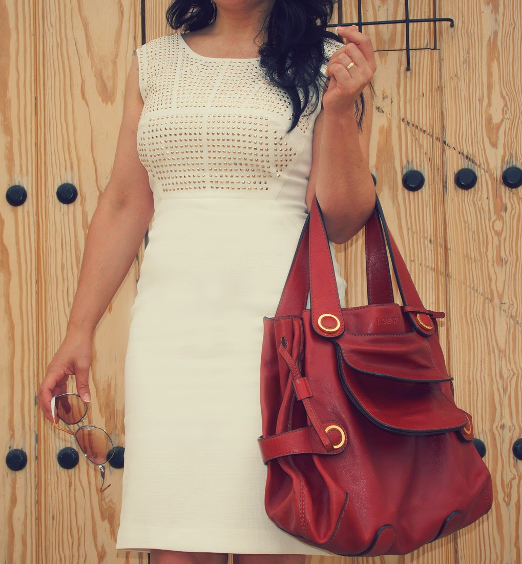 Jones+New+York+White+Dress