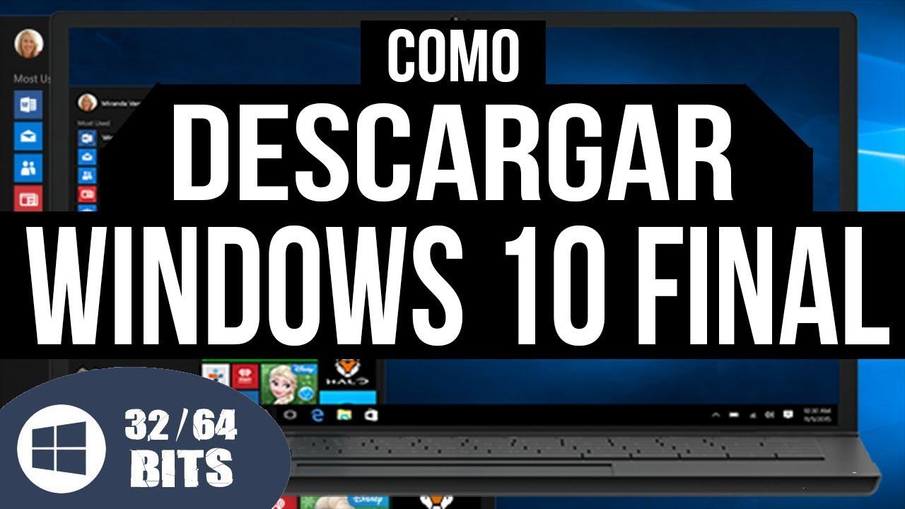 descargar windows 10 gratis en español 64 bits