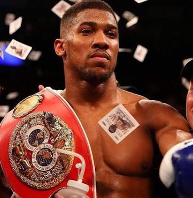 Anthony Oluwafemi Nigerian-British boxer won IBF world heavyweight title