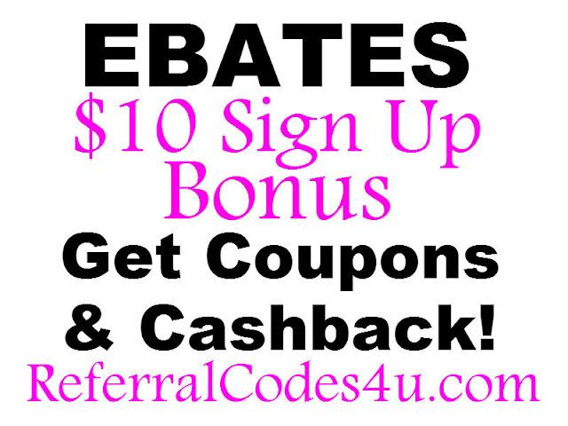 Ebates Referral Bonus 2020: Get a $10 bonus when you sign up or refer a friend.