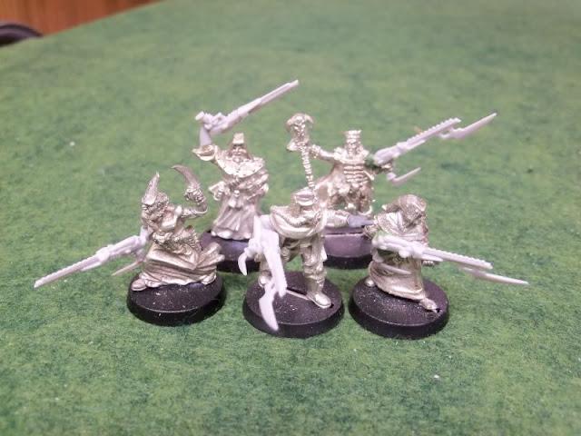 Imperial Guard renegade conversion, modelling, Warhammer 40k