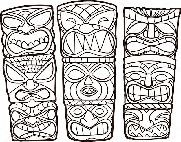 Best Images About Ttem Smbolos De Todos Tipos Etnias On Pinterest   Mayan Tattoos Coloring Pages And Clip Art