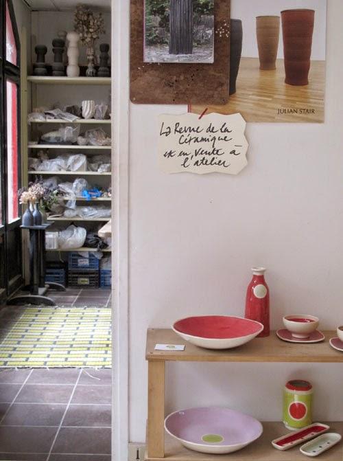 La Revue de la céramique et du verre est en vente à l'atelier. Argilerie 75019