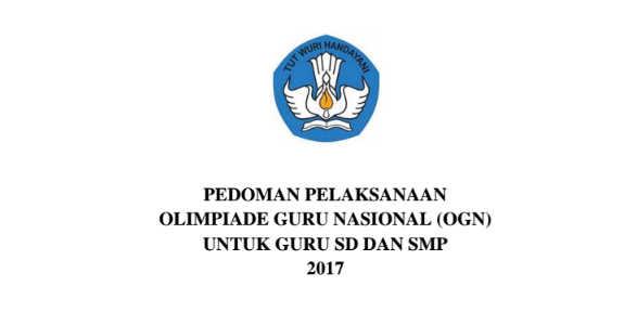 Lomba Olimpiade Guru Nasional (OGN) 2017