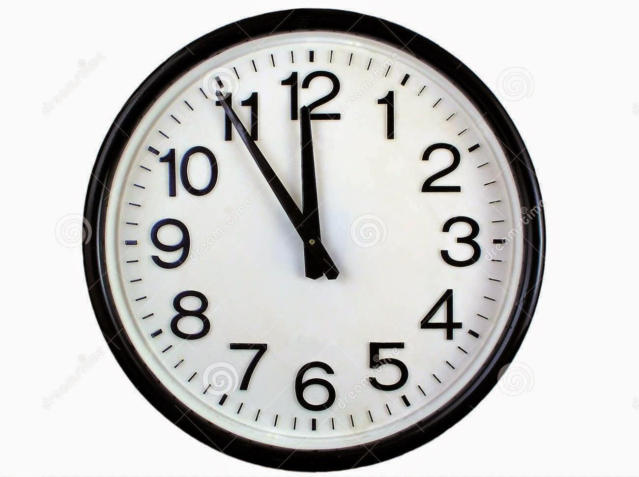 Enroque de ciencia las 10 10 de los relojes razones - Reloj pintado en la pared ...