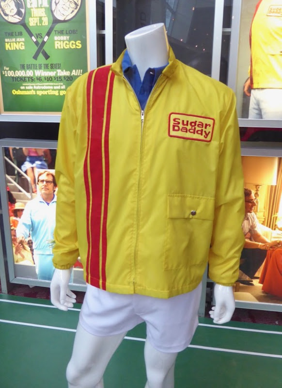 Steve Carell Battle of the Sexes Bobby Riggs Sugar Daddy jacket