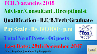 TCIL Recruitment 2018
