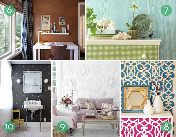5 Beautiful Accent Wall Ideas To Spruce Up Your Home: Unique Accent Wall Ideas