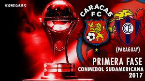 Cerro Porteño vs Caracas FC en Copa Sudamericana 2017