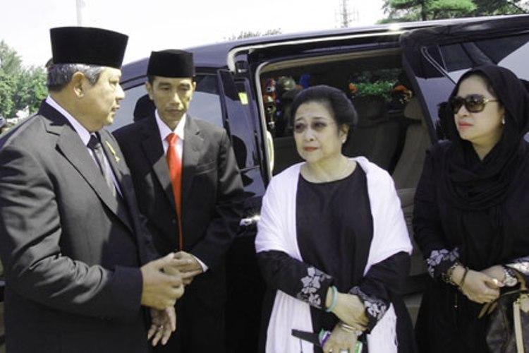 SBY Megawati