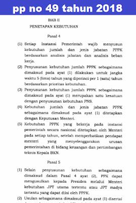 GAMBAR pp no 49 tahun 2018 pdf