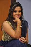Shilpa Chakravarthy anchor and actress in anarkali dress  Exclusive 004.JPG