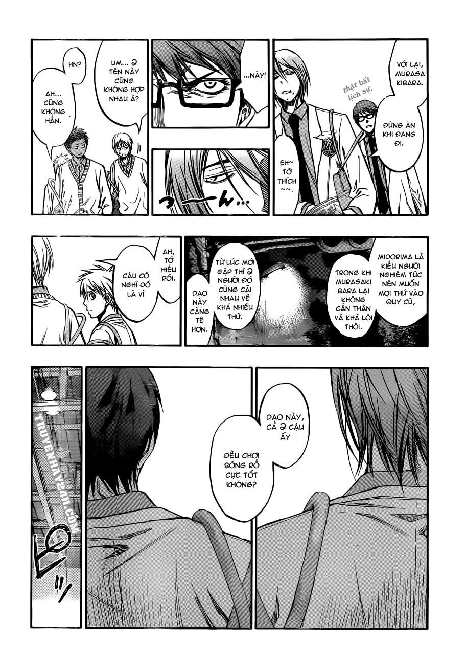 Kuroko No Basket chap 212 trang 10