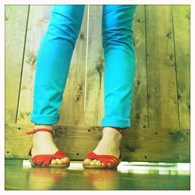 Bright Colored Skinny Jeans