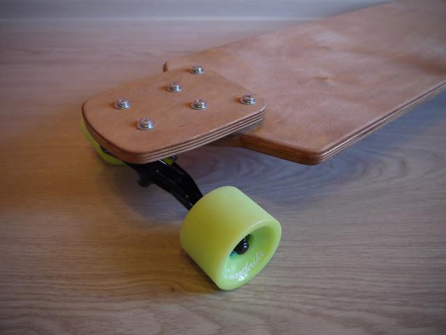 Combined drop-down longboard