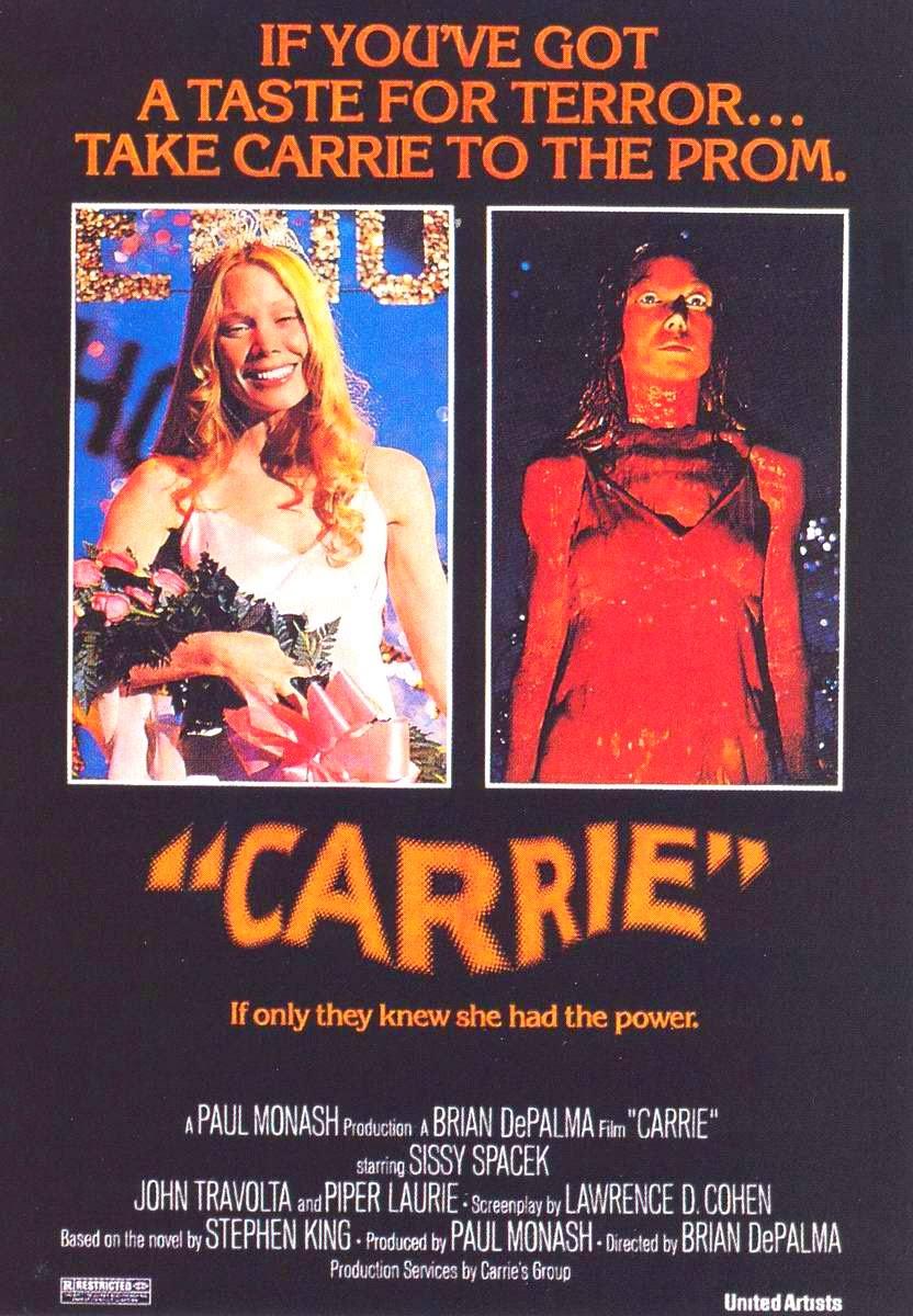 carrie film 1976 stephen king brian depalma sissy spacek